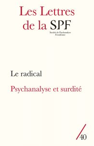 Lettres de la SPF 40, couverture