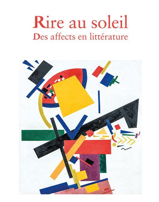 Rencontre-débat autour du livre de Jean-Michel Rabaté, Rire au soleil